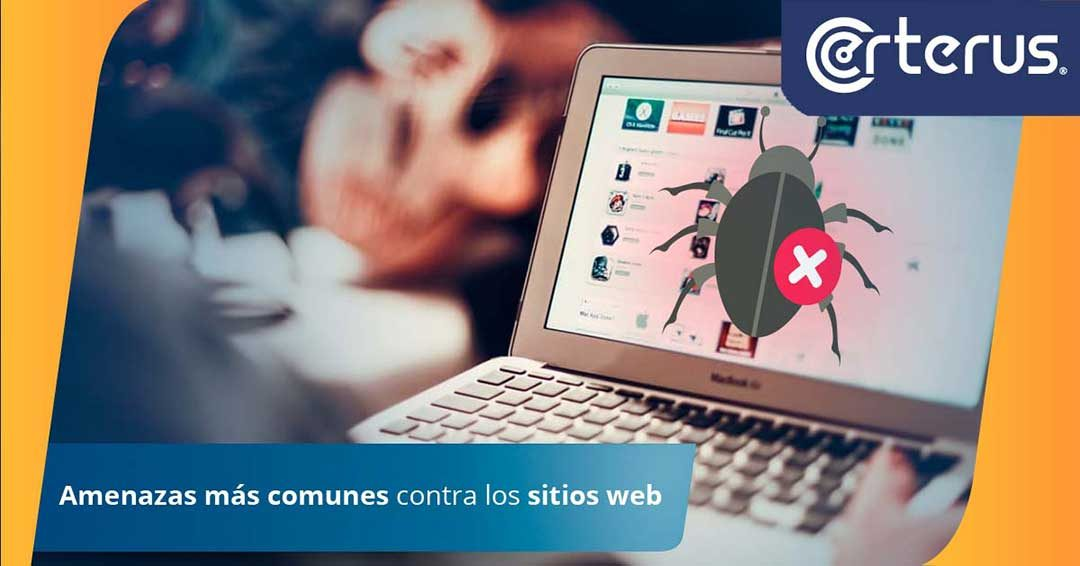 Amenazas más frecuentes contra sitios web