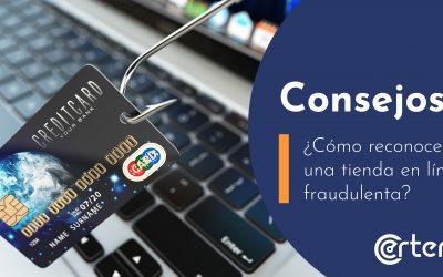 ¿Cómo reconocer una tienda en línea fraudulenta?