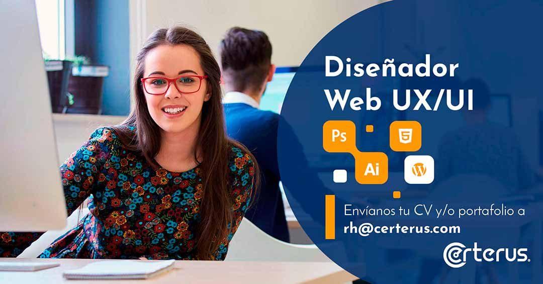 Diseñador Web UX/UI