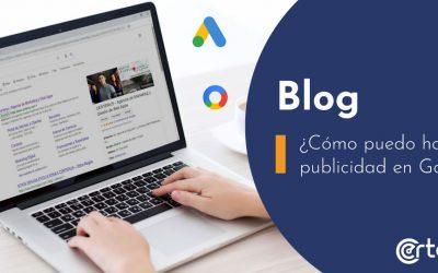 ¿Cómo puedo hacer publicidad en Google?